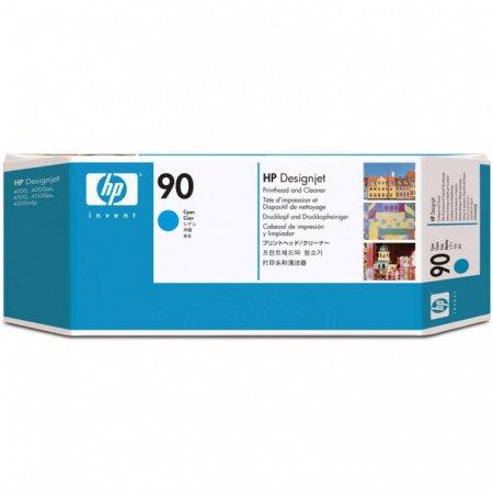 Original C5055A (HP 90) Printhead and Cleaner, Cyan