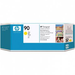 Original C5057A (HP 90) Printhead and Cleaner, Yellow