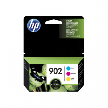 Original T0A38AN (HP 902) Ink Cartridgess, Cyan, Magenta, Yellow