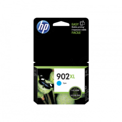 Original T6M02AN (HP 902XL) Ink Cartridges, High Yield Cyan