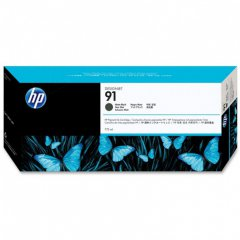 Original C9464A (HP 91) Ink Cartridges, Matte Black