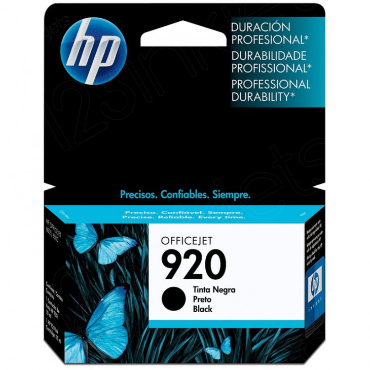 Original CD971AN (HP 920) Ink Cartridges, Black