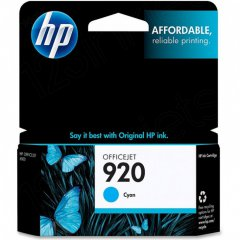 Original CH634AN (HP 920) Ink Cartridges, Cyan