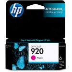 Original CH635AN (HP 920) Ink Cartridges, Magenta