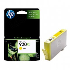 Original CD974AN (HP 920XL) Ink Cartridges, High-Yield Yellow