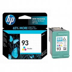 Original C9361WN (HP 93) Ink Cartridges, Tri-Color