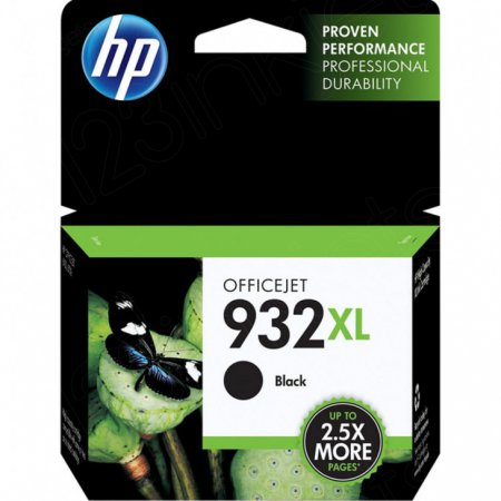 Original CN053AN (HP 932XL) Ink Cartridges, High-Yield Black