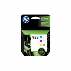 Original HP 933 Set of 3 Ink Cartridges, N9H56FN