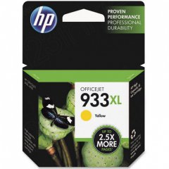 Original CN056AN (HP 933XL) Ink Cartridges, High-Yield Yellow