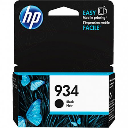 Original C2P19AN (HP 934) Ink Cartridges, Black