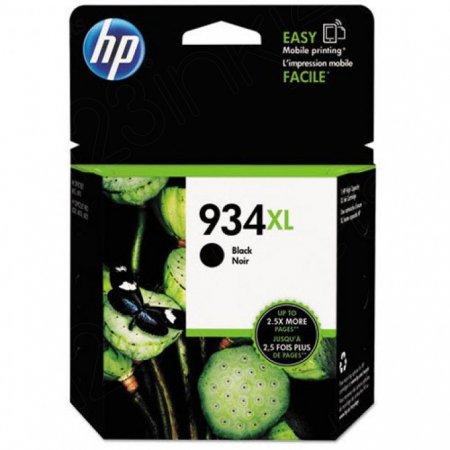 Original C2P23AN (HP 934XL) Ink Cartridges, High-Yield Black