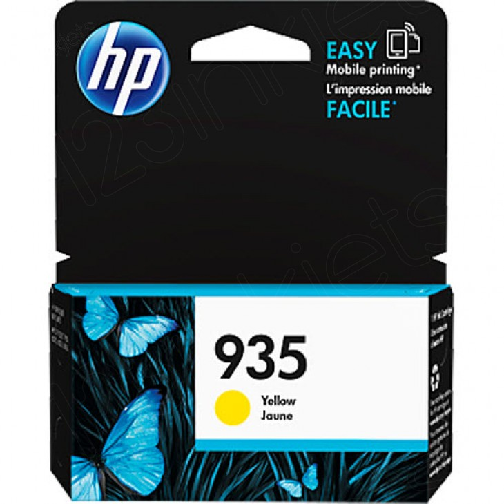 Original C2P22AN (HP 935) Ink Cartridges, Yellow