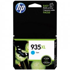 Original C2P24AN (HP 935XL) Ink Cartridges, High-Yield Cyan