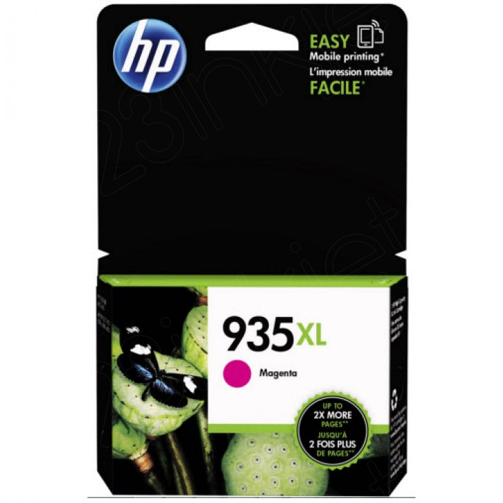 Original C2P25AN (HP 935XL) Ink Cartridges, High-Yield Magenta