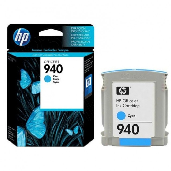 Original C4903AN (HP 940) Ink Cartridges, Cyan