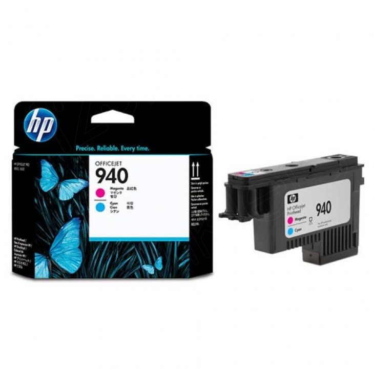 Original C4901A (HP 940) Ink Cartridge Printhead, Cyan & Magenta