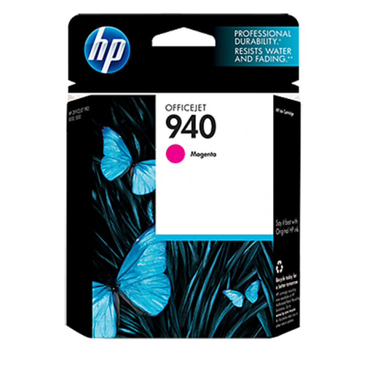 Original C4904AN (HP 940) Ink Cartridges, Magenta