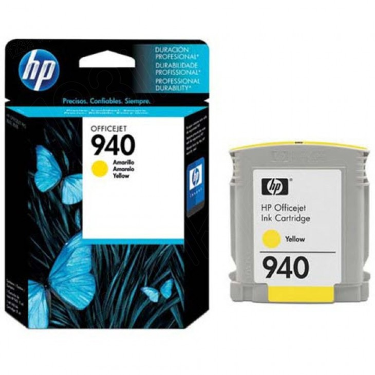 Original C4905AN (HP 940) Ink Cartridges, Yellow