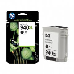 Original C4906AN (HP 940XL) Ink Cartridges, High-Yield Black