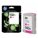 Original C4908AN (HP 940XL) Ink Cartridges, High-Yield Magenta