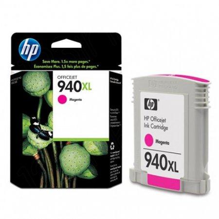 Original C4908AN (HP 940XL) Ink Cartridges, High-Yield Magenta
