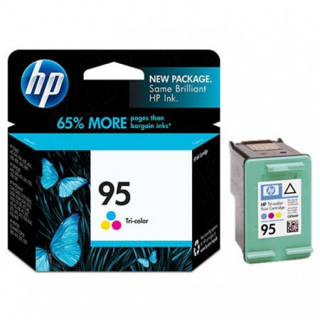 Original C8766WN (HP 95) Ink Cartridges, Tri-Color