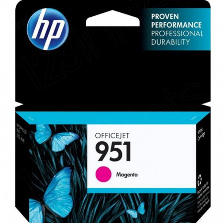 Original CN051AN (HP 951) Ink Cartridges, Magenta