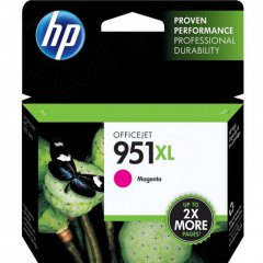 Original CN047AN (HP 951XL) Ink Cartridges, High-Yield Magenta