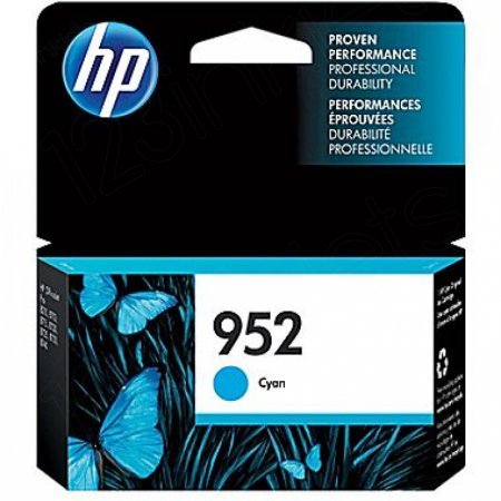 Original L0S49AN (HP 952) Ink Cartridges, Cyan