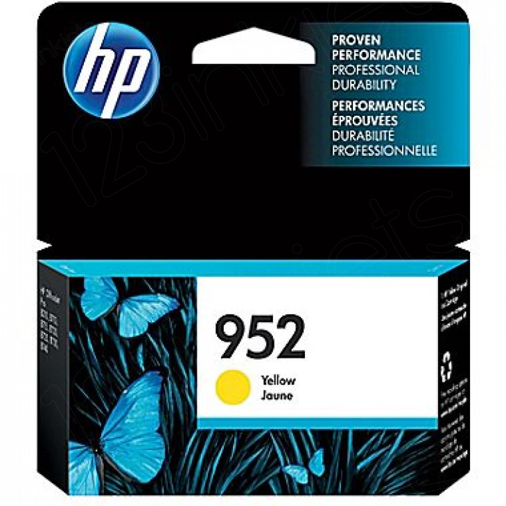 Original L0S55AN (HP 952) Ink Cartridges, Yellow