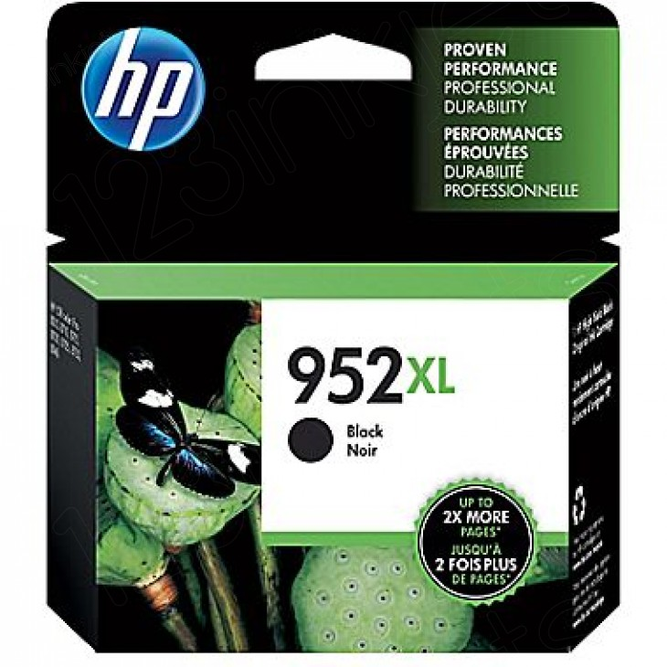 Original F6U19AN (HP 952XL) Ink Cartridges, High Yield Black