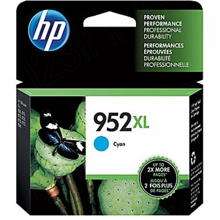 Original L0S61AN (HP 952XL) Ink Cartridges, High Yield Cyan