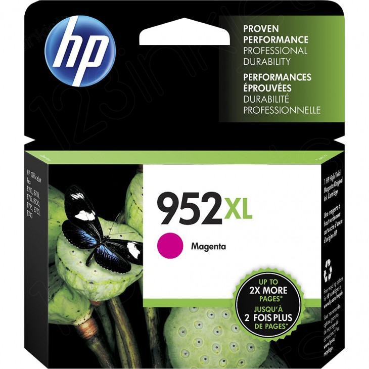 Original L0S64AN (HP 952XL) Ink Cartridges, High Yield Magenta