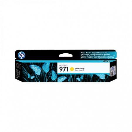 Original CN624AM (HP 971) Ink Cartridges, Yellow