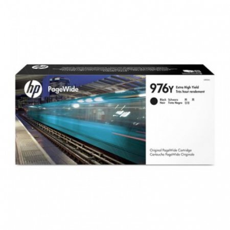 Original L0R08A (HP 976Y) Cartridges, Extra High Yield Black