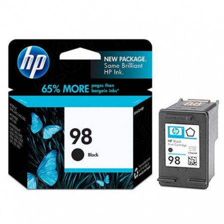 Original C9364WN (HP 98) Ink Cartridges, Black