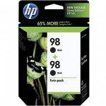 Original HP 98 Black Ink Pack