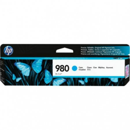 Original D8J07A (HP 980A) Ink Cartridges, Cyan