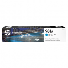Original J3M68A (HP 981A) Ink Cartridges, Cyan