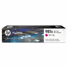 Original L0R10A (HP 981X) Ink Cartridges, High Yield Magenta