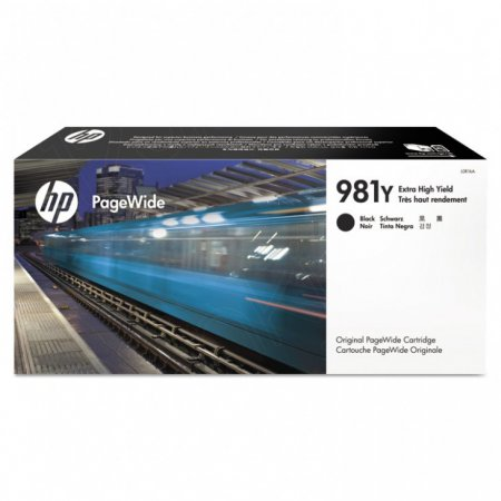Original L0R16A (HP 981Y) Ink Cartridges, Extra High Yield Black