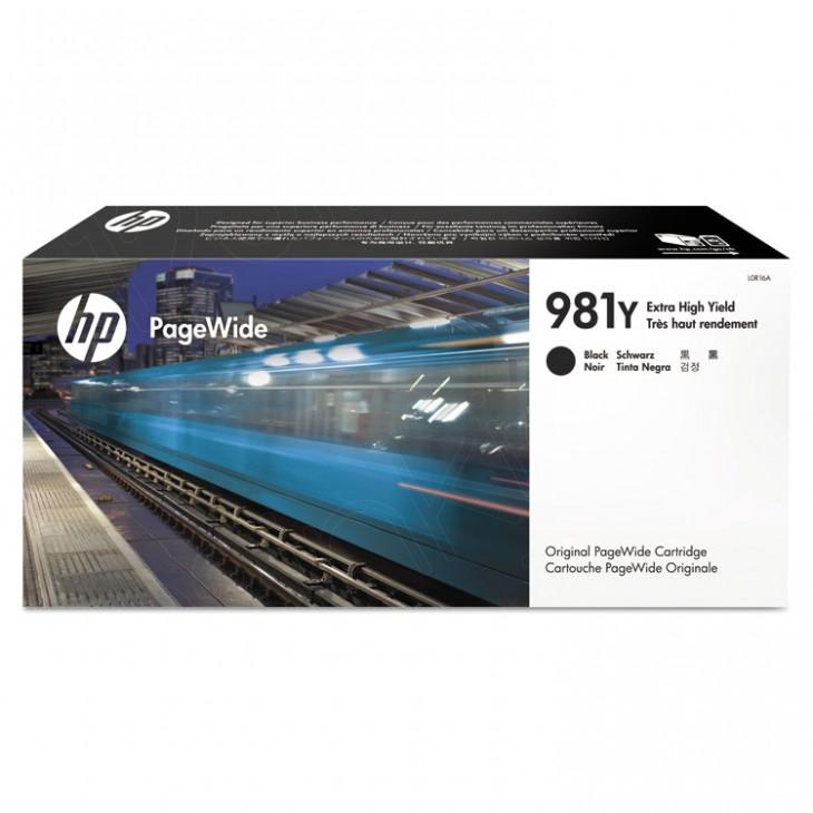 Original L0R16A (HP 981Y) Ink Cartridges, Extra High Yield Black