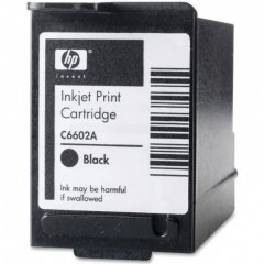 Original Hewlett Packard C6602A Ink Cartridge, Black