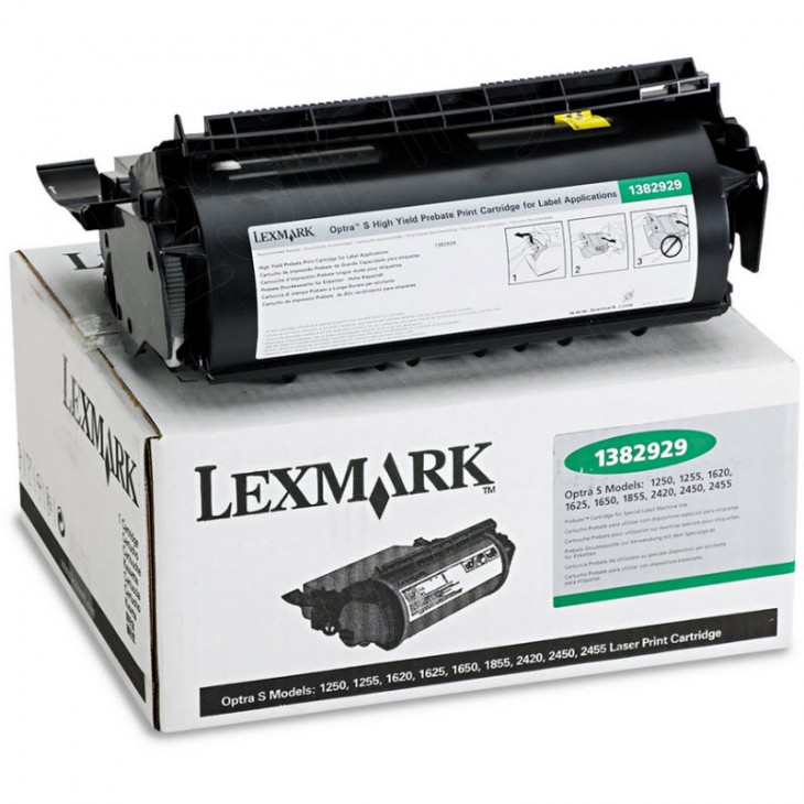Lexmark Original 1382929 High Yield Black Toner
