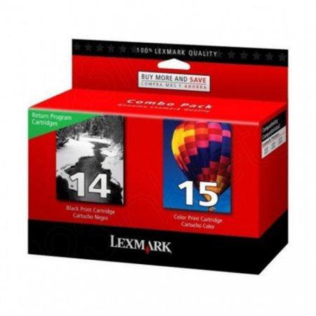 Lexmark Original 18C2239 Black and Color Ink