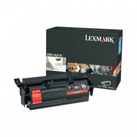 Lexmark Original X651A21A Black Toner