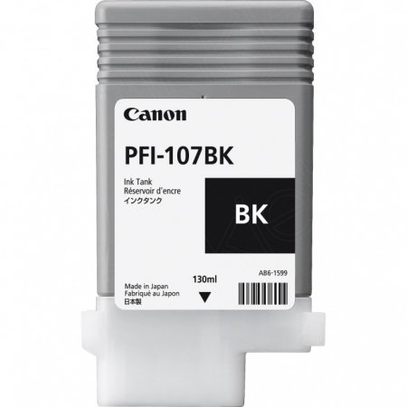 Canon Original PFI-107BK Black Ink