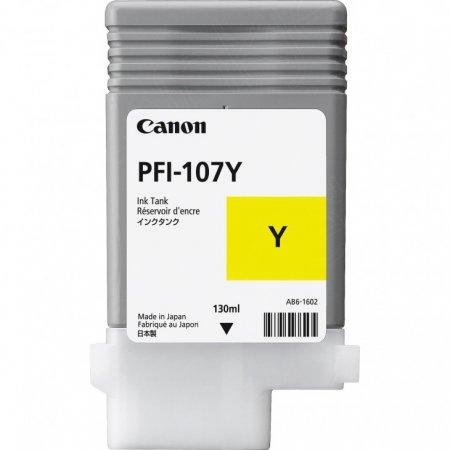Canon Original PFI-107Y Yellow Ink