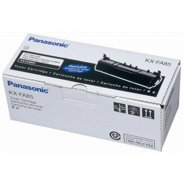 Panasonic KX-FA85 Black OEM Laser Toner Cartridge