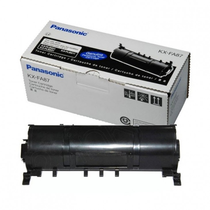 Panasonic KX-FA87 Black OEM Laser Toner Cartridge